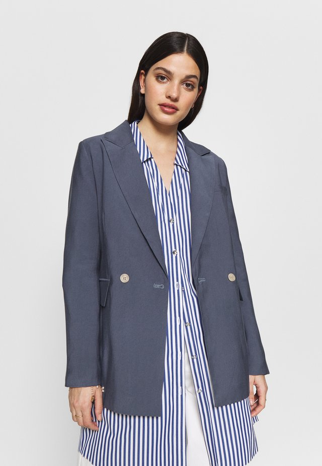 RELAXED - Manteau court - blue