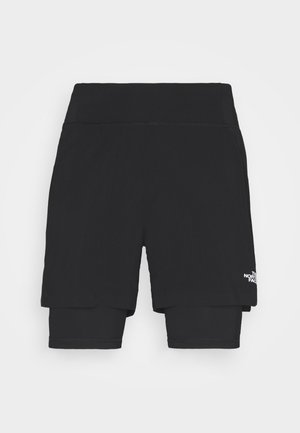 CIRCADIAN LINED SHORT - Sports shorts - black