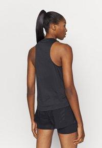 adidas Performance - TANK - Sports shirt - black - 2