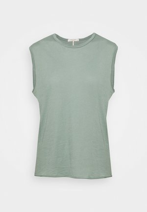 THE GAIA MUSCLE TANK - Jednoduché triko - light green