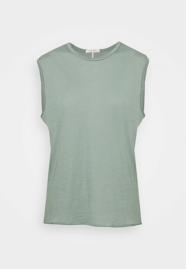 THE GAIA MUSCLE TANK - T-shirts - light green