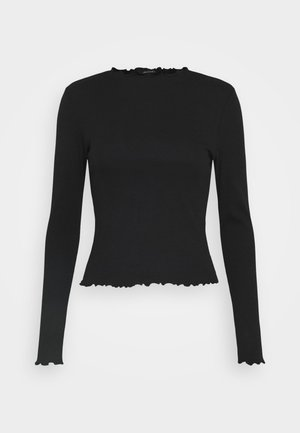 MOLLY  - Long sleeved top - black