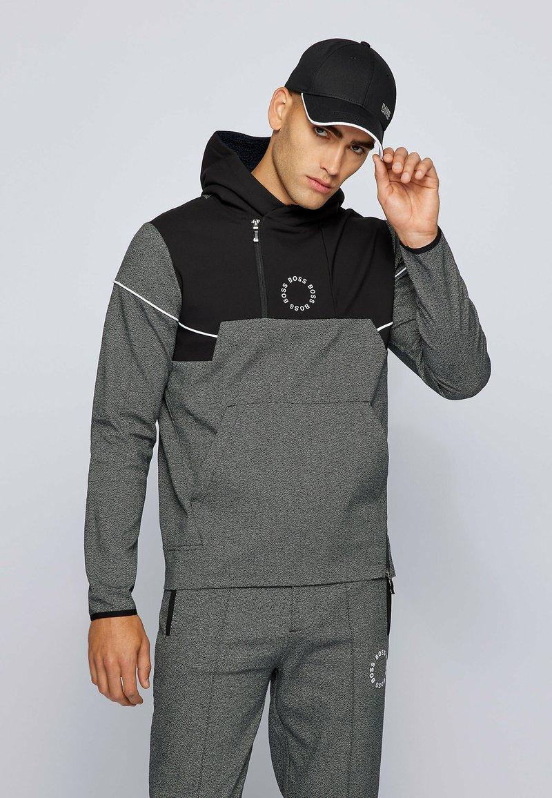 BOSS - SANNOK - Hoodie - grey