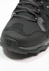 Salomon - EFFECT GTX - Hiking shoes - phantom/black/dawn blue - 5