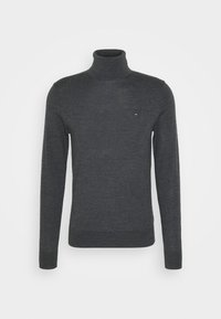 FINE GAUGE LUXURY ROLL  - Stickad tröja - magnet heather