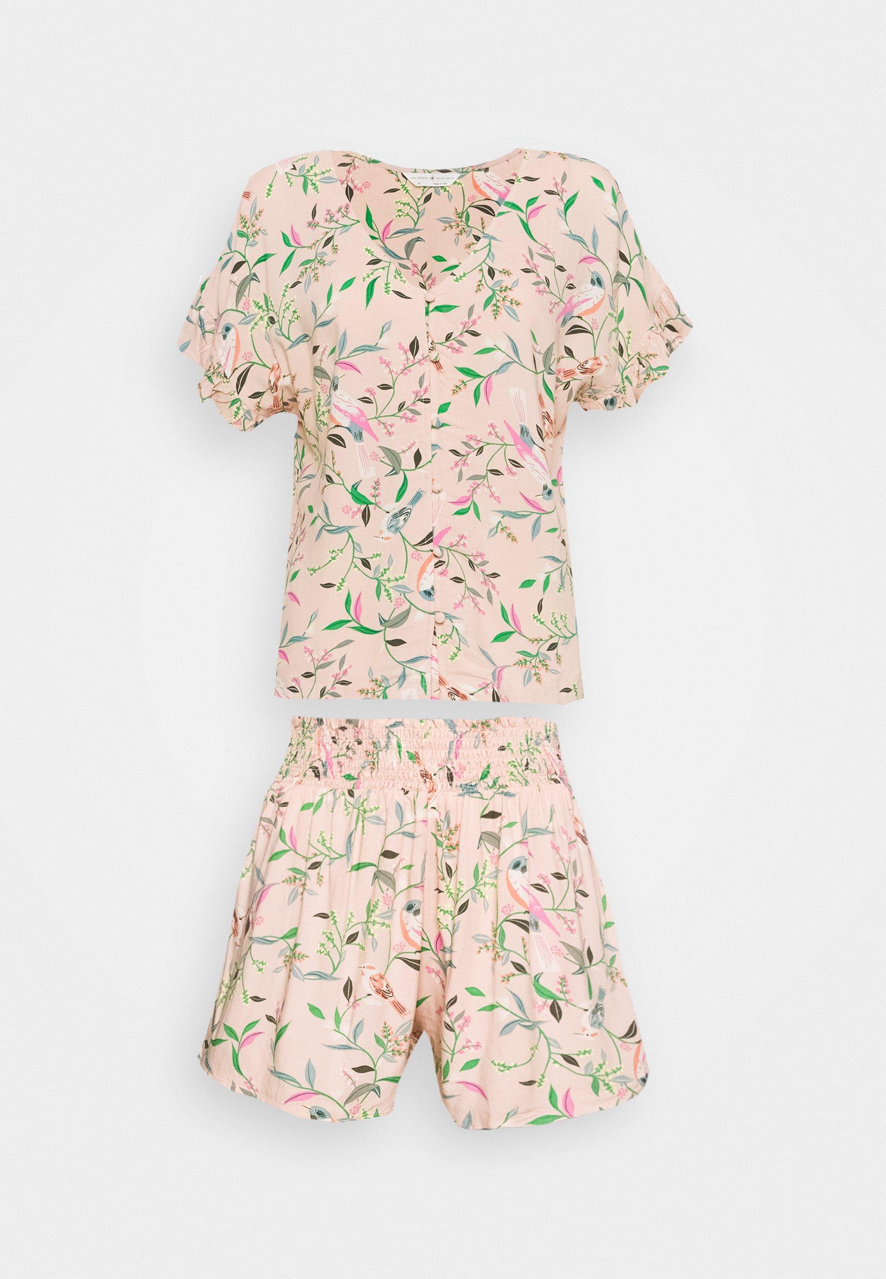 Damen FLORAL SHORTIE  - Pyjama