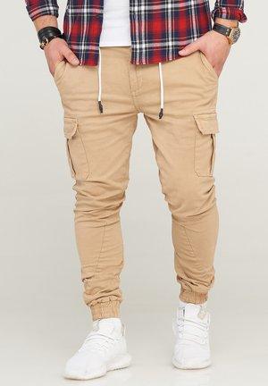 MPVEGAS - Cargo trousers - beige