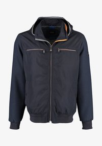 DNR Jackets - MIT STEHKRAGEN UND KAPUZE - Light jacket - dark blue - 0