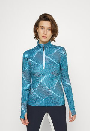 WOMAN  - Fleece jumper - azzurro titanio