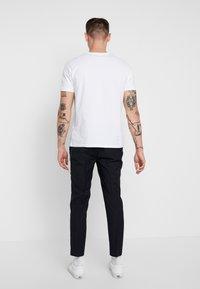 Topman - WEIST CHAIN - Trousers - navy - 2