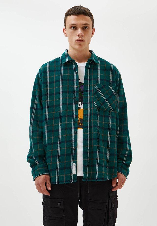MIT KAROMUSTER - Overhemd - dark green