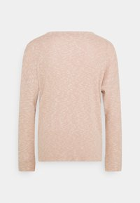 American Eagle - STITCHED HENLEY - Long sleeved top - blush - 1