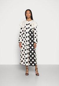 Love Copenhagen - DOTANA DRESS - Shirt dress - black white dot - 0