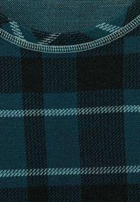 Cecil - MIT KARO - Long sleeved top - schwarz - 4