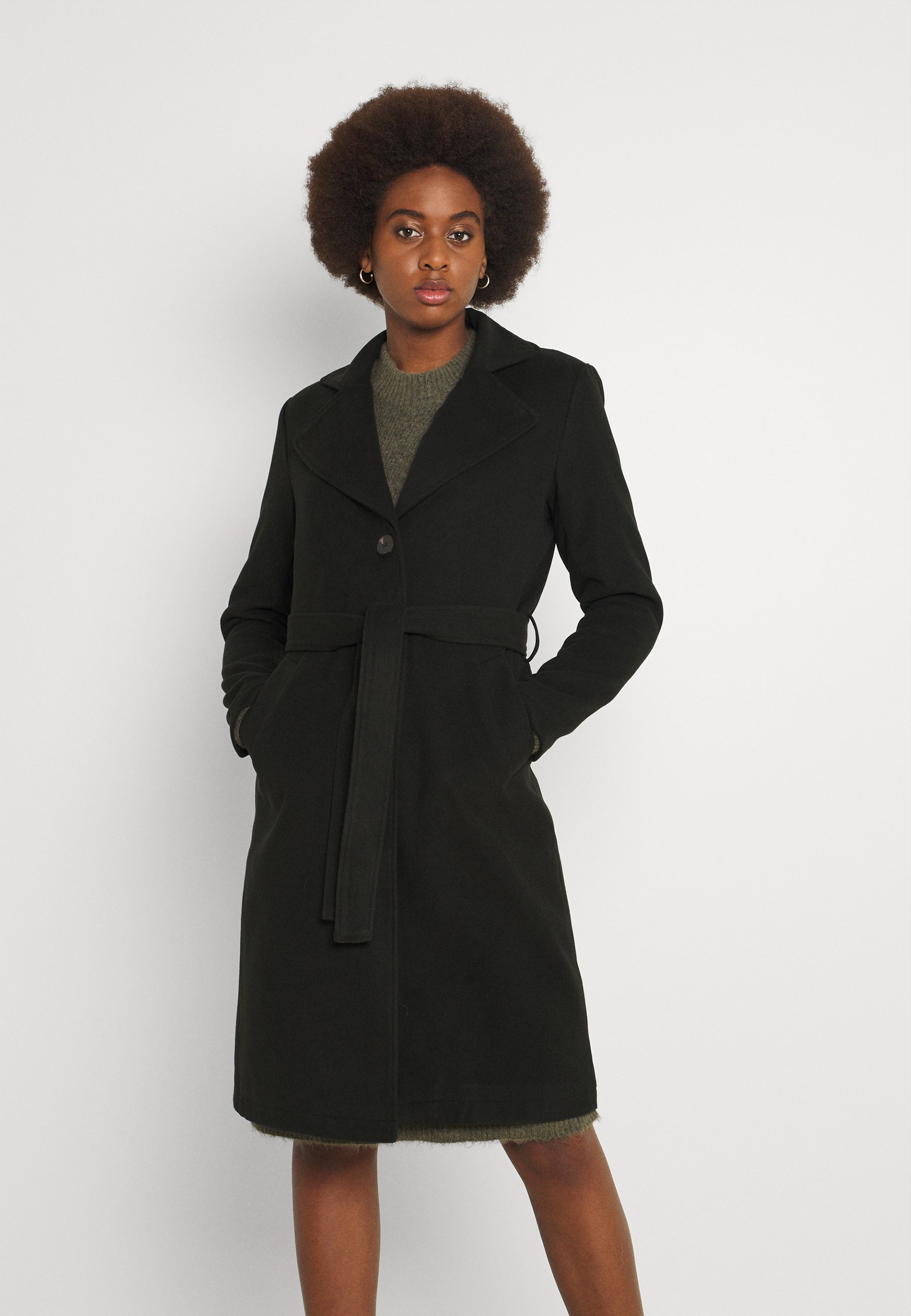 Women VIPOKU TIE BELT COAT - Classic coat