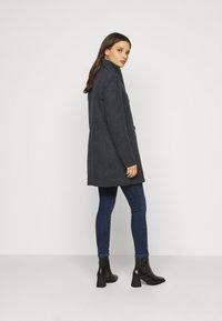 Vero Moda Petite - VMCLASSLINE JACKET - Manteau classique - dark grey melange - 2