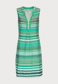 Esqualo - DRESS GREEN GARDEN - Jerseykjoler - print - 3