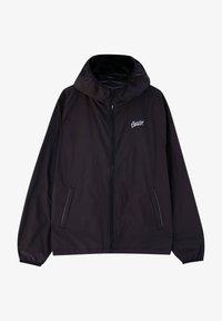 PULL&BEAR - Waterproof jacket - black - 2