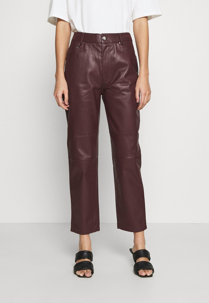 EDITED - MARESA TROUSERS - Trousers - rot