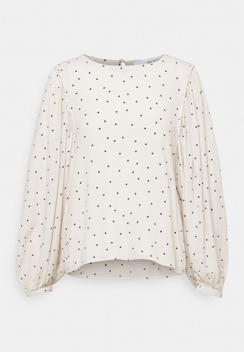 Selected Femme Petite - SLFZELDA - Long sleeved top - birch