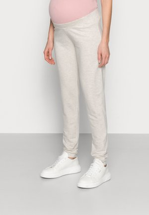 PCMRELAX - Tracksuit bottoms - light grey melange
