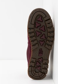 The North Face - REDUX - Hikingschuh - deep garnet red/stratosphere blue - 4