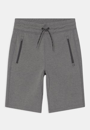 BOY FIT TECH - Shorts - grey heather