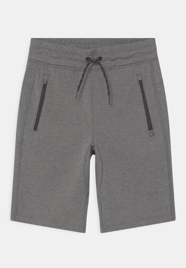 BOY FIT TECH - Shorts - grey heather