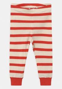 Mini Rodini - STRIPE UNISEX - Leggings - Trousers - red - 0