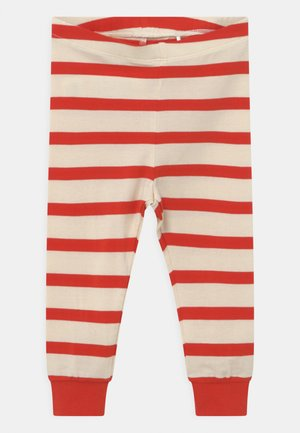 STRIPE UNISEX - Leggings - Trousers - red