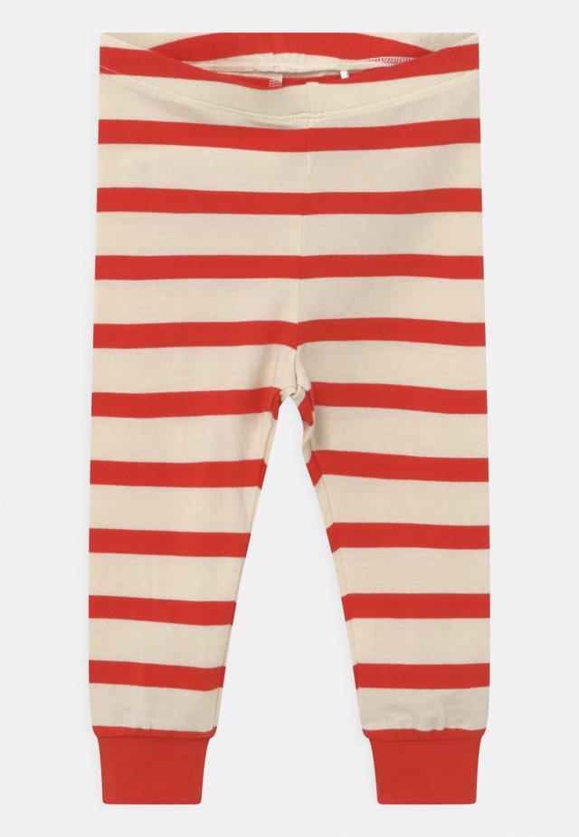 STRIPE UNISEX - Leggings - Trousers - red