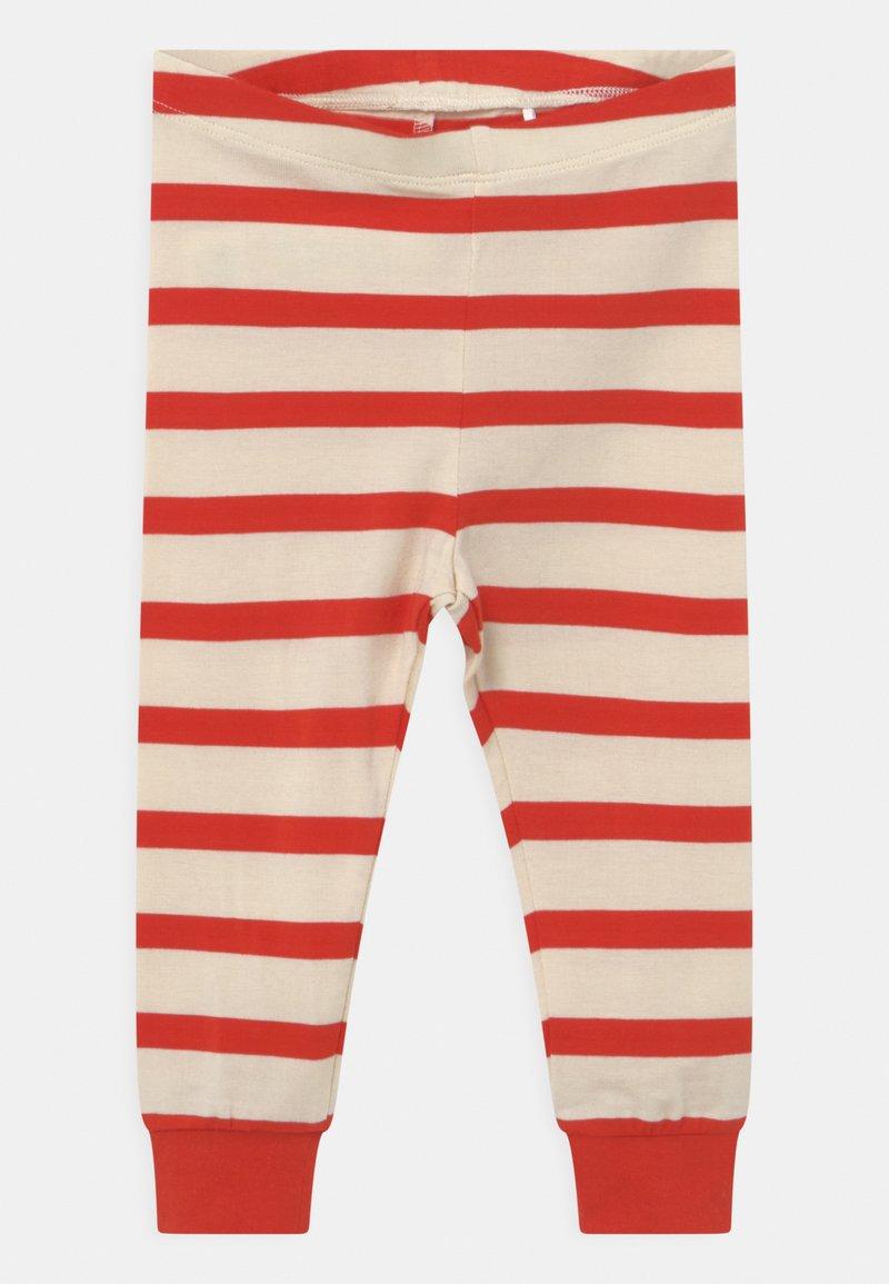 Mini Rodini - STRIPE UNISEX - Leggings - Trousers - red