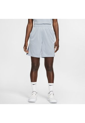 NIKE DRI-FIT DAMEN-BASKETBALLSHORTS - Sports shorts - obsidian mist/diffused blue/white