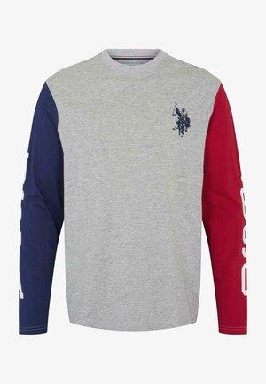 AAGE - Långärmad tröja - grey melange