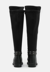 Trendyol - Kozačky nad kolena - black - 3