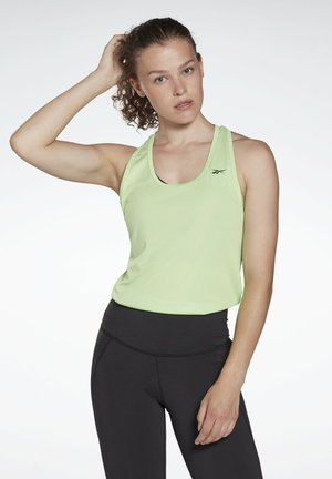 MESH WORKOUT READY TRAINING TANK - Top - green