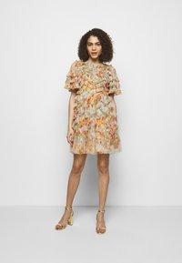 Needle & Thread - SUNSET GARDEN MINI DRESS - Robe de soirée - multicolor - 1
