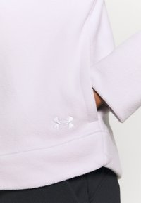 Under Armour - RECOVER WRAP NECK - Fleece jumper - crystal lilac