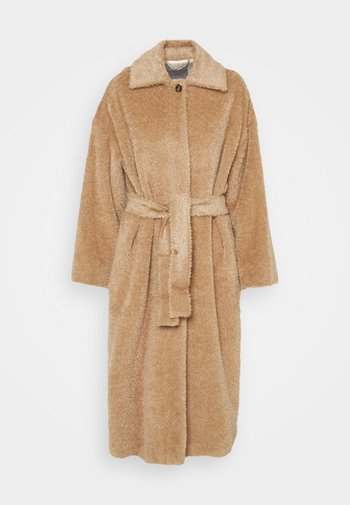 AGAIN - Classic coat - cammello