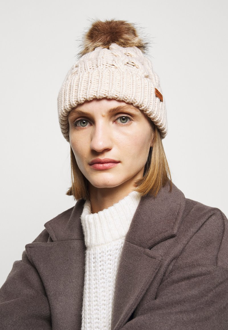 Barbour - PENSHAW CABLE BEANIE - Beanie - blush pink