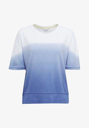 MIT FARBVERLAUF - Pyžamový top - blue lavender