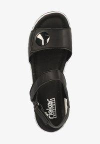 Rieker - Platform sandals - schwarz 00 - 1