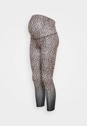 MATERNITY LOVE YOU A LATTE - Leggings - multi-coloured