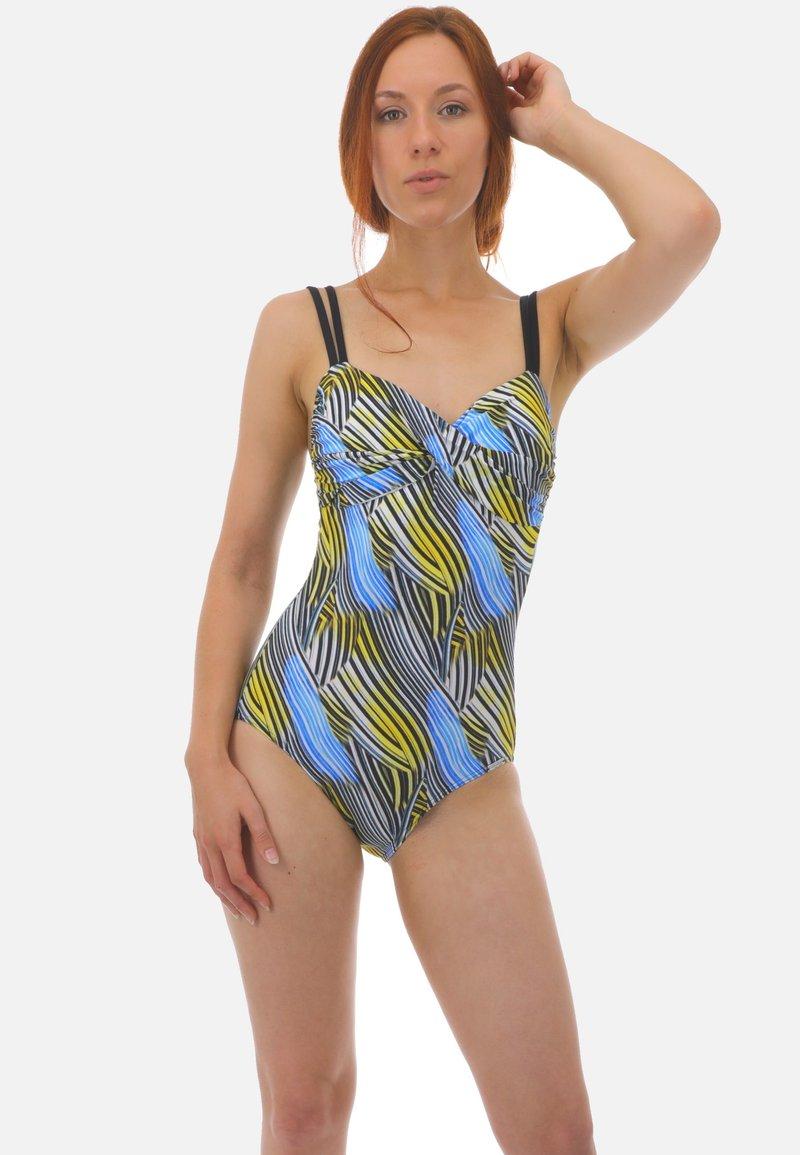 Sunmarin - LUCY - Swimsuit - schwarz