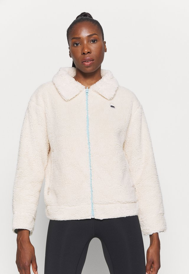 Fleecová bunda - beige