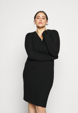 GARDENIA - Jumper dress - black