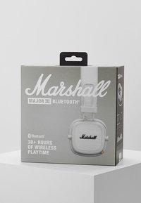 Marshall - MAJOR III BLUETOOTH - Koptelefoon - white - 4