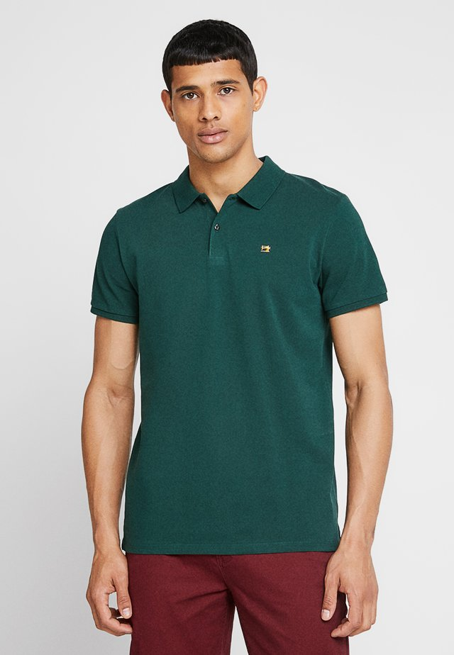 CLASSIC CLEAN - Poloskjorter - bottle green