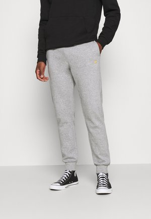 BIRD EMBRO  JOGGERS - Tracksuit bottoms - mottled light grey
