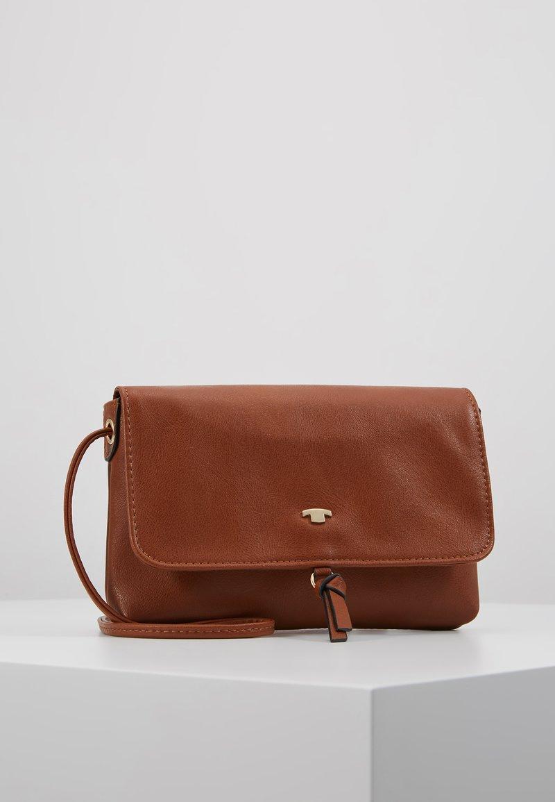 TOM TAILOR - LUNA - Across body bag - cognac
